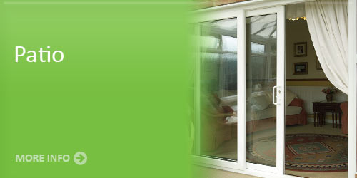 Patio door installation service