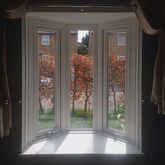 Casement bay window internal