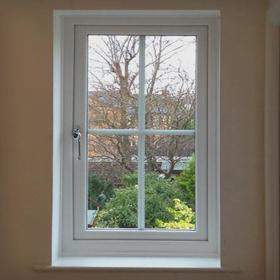 Complete windows installation on traditional English house